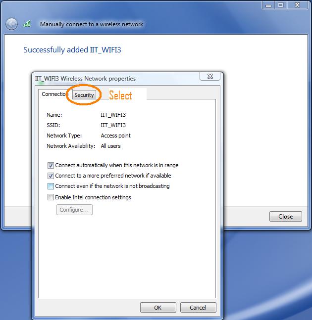 PEAP-MSCHAPv2 on Windows Vista or Windows 7